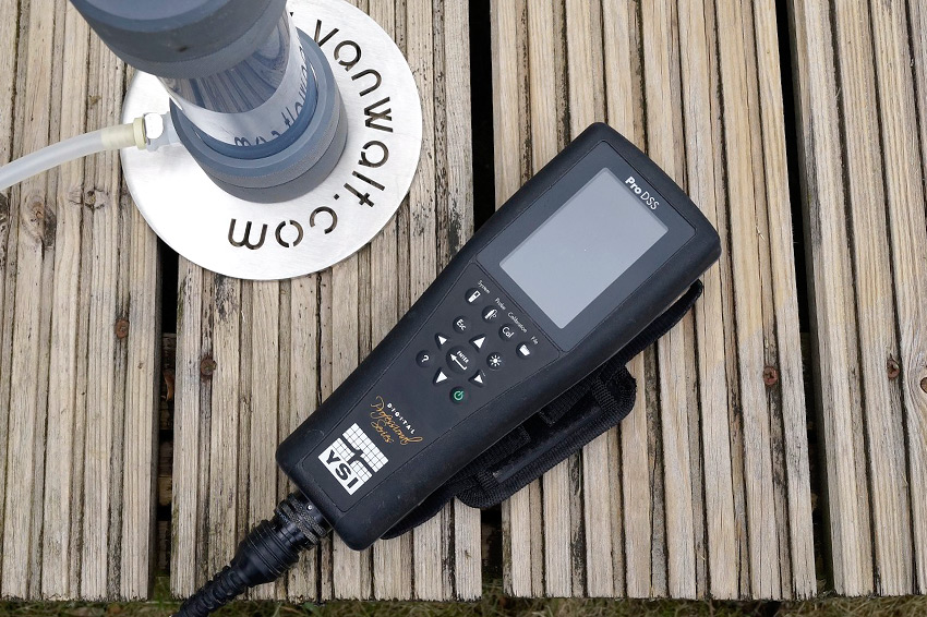 Ysi Prodss Water Quality Meter Measures Water Parameters