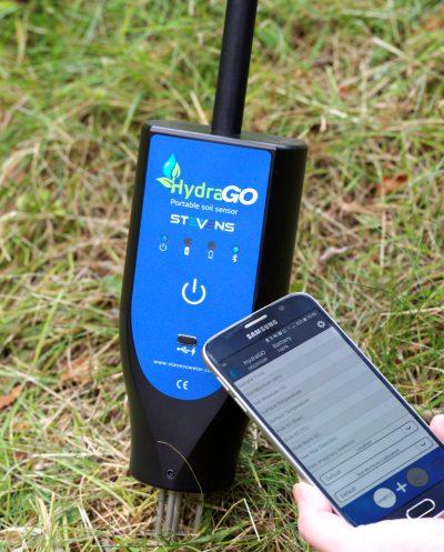 HydraGO Portable Soil Moisture Meter & App
